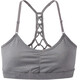 Prana W's Elixir Bra Heather Grey